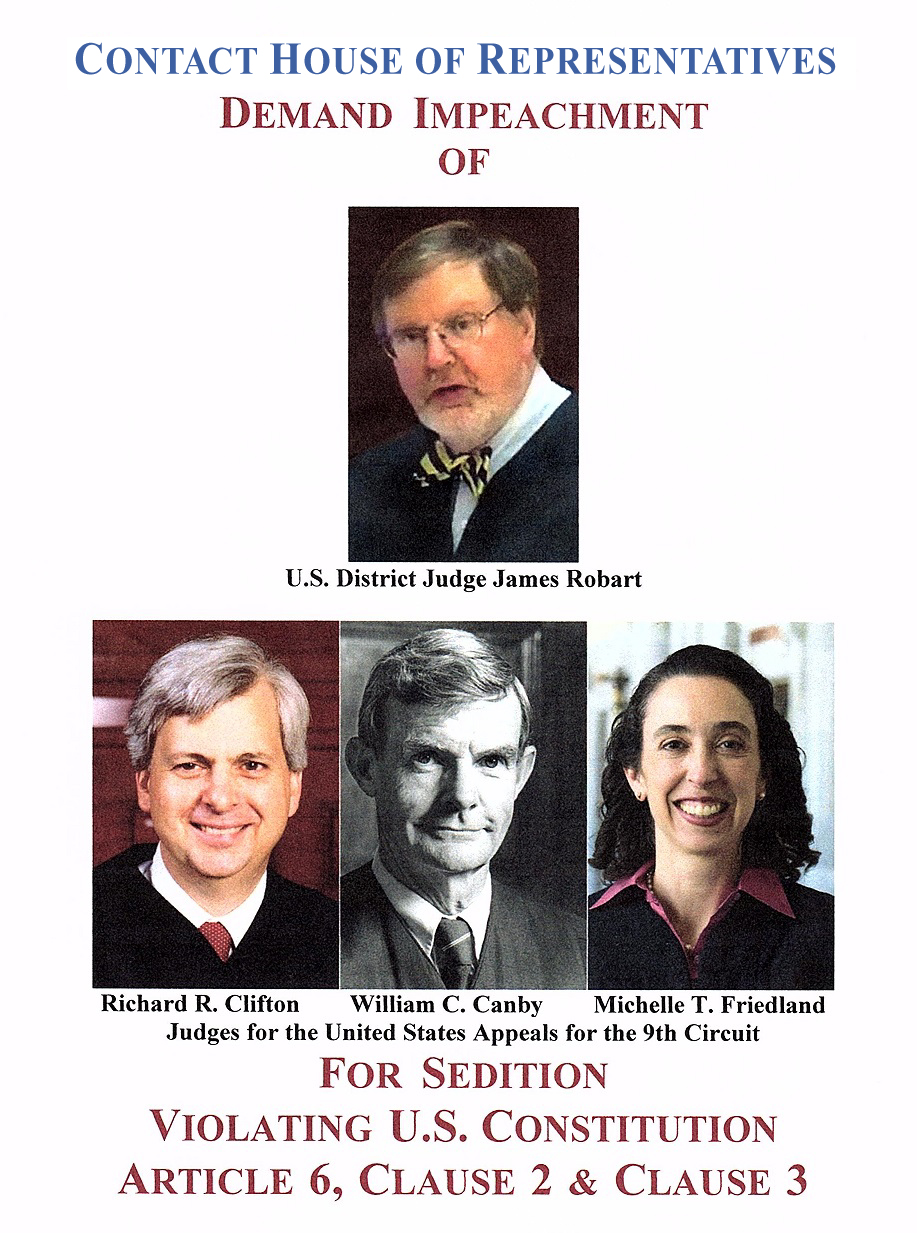 Impeach judges
